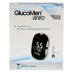 GLUCOMEN areo Blutzuckermessgerät Set mmol/l 1 Stück - Vorderseite