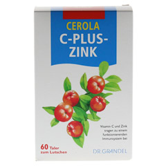 CEROLA C plus Zink Taler Grandel 60 Stück - Vorderseite