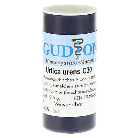 URTICA URENS C 30 Einzeldosis Globuli 0.5 Gramm N1