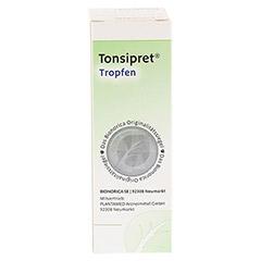 TONSIPRET Tropfen 30 Milliliter N1 - Rückseite