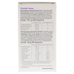 TRIVITAL meno Kapseln 56 St�ck - R�ckseite