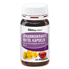 Sovitarelax Johanniskraut-Rotöl Kapseln 120 Stück