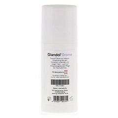 GLANDOL Creme 50 Milliliter - R�ckseite