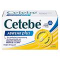 CETEBE ABWEHR plus Vitamin C+Vitamin D3+Zink Kaps. 30 St�ck