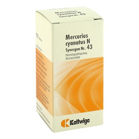 SYNERGON KOMPLEX 43 Mercurius cyanatus N Tabletten 100 Stück