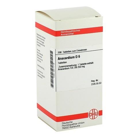 ANACARDIUM D 6 Tabletten 200 Stück N2