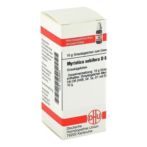 MYRISTICA SEBIFERA D 6 Globuli 10 Gramm N1