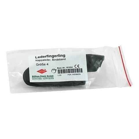 FINGERLING Leder Gr.4 Bindeband 1 St�ck