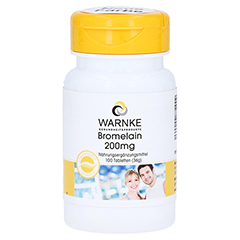 BROMELAIN 200 mg magensaftresistente Tabletten 100 St�ck