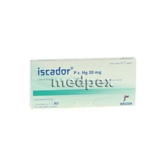 ISCADOR P c.Hg 20 mg Injektionsl�sung 7x1 Milliliter N1