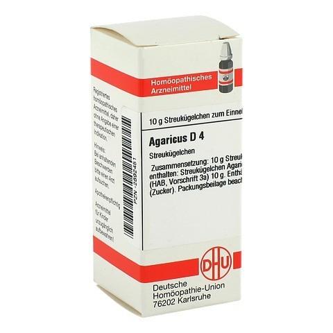 AGARICUS D 4 Globuli 10 Gramm N1