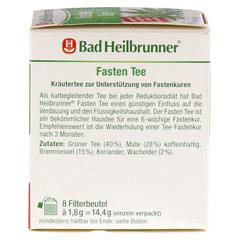 BAD HEILBRUNNER Tee Fasten Filterbeutel 8 Stück - Linke Seite