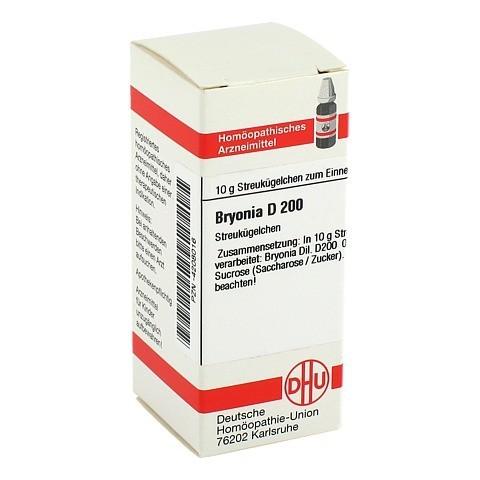 BRYONIA D 200 Globuli 10 Gramm N1