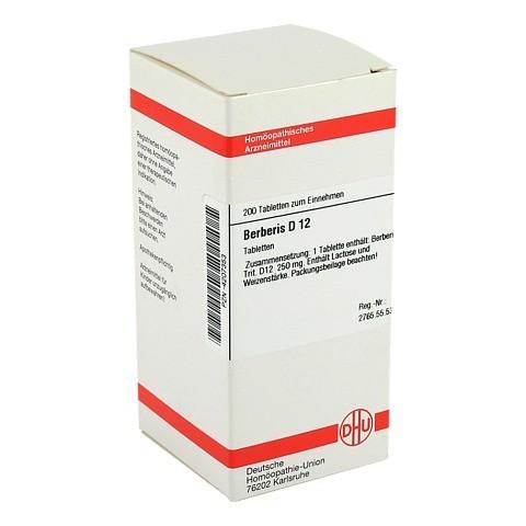BERBERIS D 12 Tabletten 200 St�ck N2