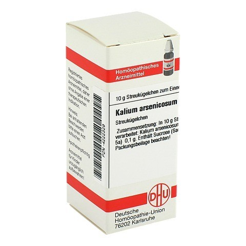 KALIUM ARSENICOSUM C 30 Globuli 10 Gramm N1