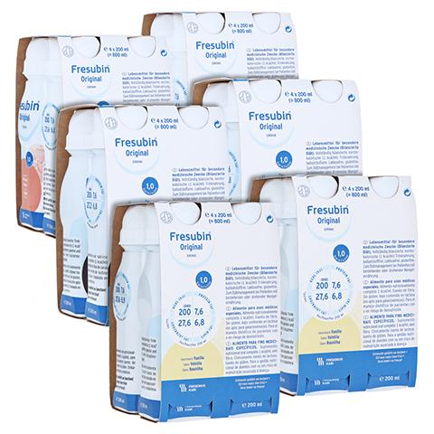 FRESUBIN ORIGINAL DRINK Mischkarton Trinkflasche 24x200 Milliliter