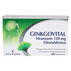 GINKGOVITAL Heumann 120mg 60 Stück N2 - Vorderseite