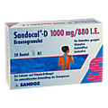Sandocal-D 1000/880 I.E. 20 Stück N1
