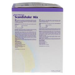 SCANDI Shake Mix Vanille Pulver 6x85 Gramm - Linke Seite