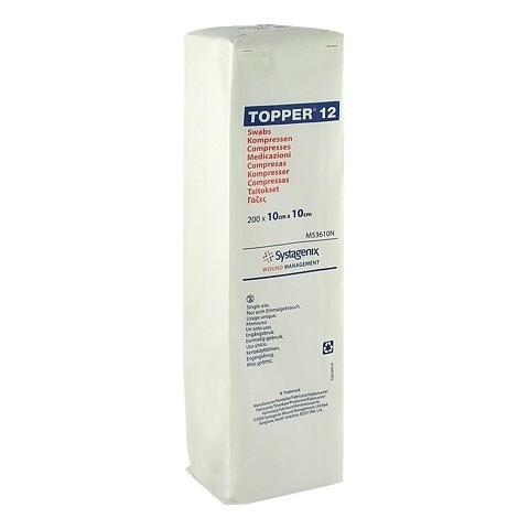 TOPPER 12 Kompr.10x10 cm unsteril 200 St�ck