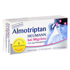 Almotriptan Heumann bei Migräne 12,5mg 2 Stück N1