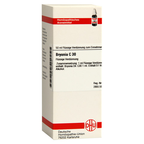 BRYONIA C 30 Dilution 50 Milliliter