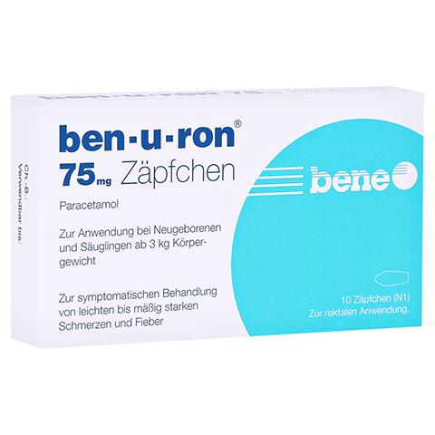 Ben-u-ron 75mg 10 St�ck N1