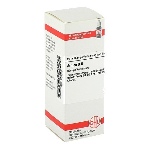 ARNICA D 6 Dilution 20 Milliliter N1