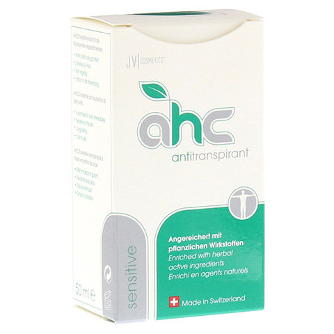 AHC sensitive Antitranspirant fl�ssig 50 Milliliter