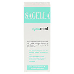 SAGELLA hydramed Intimwaschlotion 100 Milliliter - Vorderseite