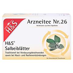H&S Salbeiblätter 20 Stück - Vorderseite