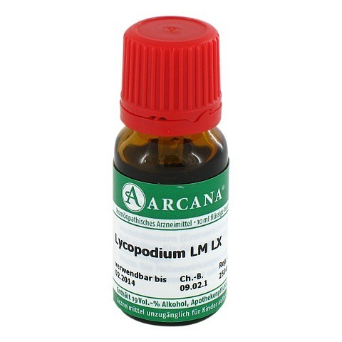 LYCOPODIUM Arcana LM 60 Dilution 10 Milliliter N1
