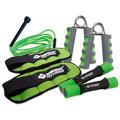 Schildkr�t Fitness Fitness Set, limegreen, anthrazit