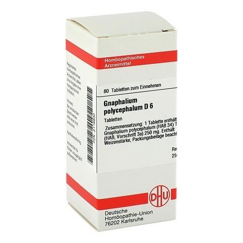 GNAPHALIUM POLYCEPHALUM D 6 Tabletten 80 St�ck N1