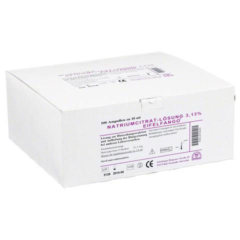 NATRIUM CITRICUM 3,13% Ampullen 100x10 Milliliter