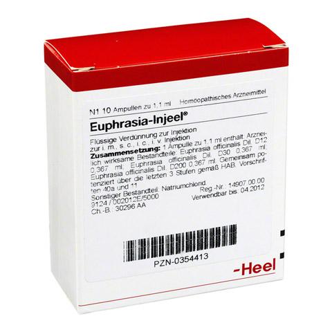 EUPHRASIA INJEEL Ampullen 10 St�ck N1