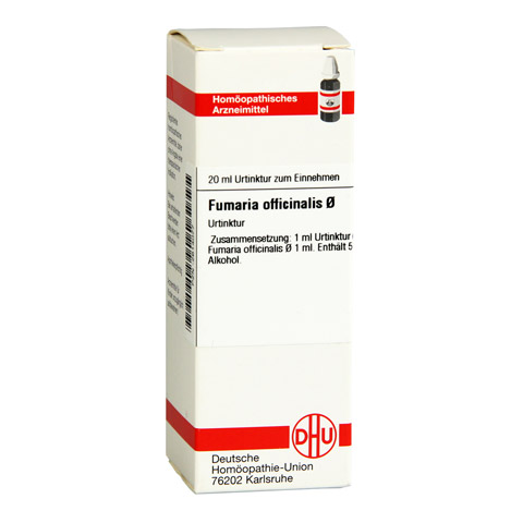 FUMARIA OFFICINALIS Urtinktur 20 Milliliter N1