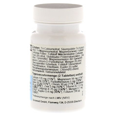 ALKACITRAT Tabletten 60 St�ck - Rechte Seite