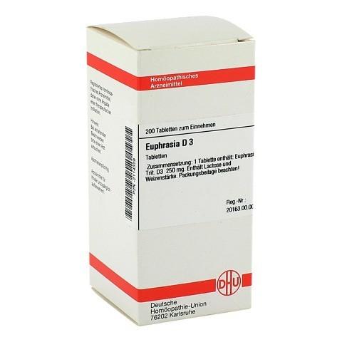EUPHRASIA D 3 Tabletten 200 Stück N2
