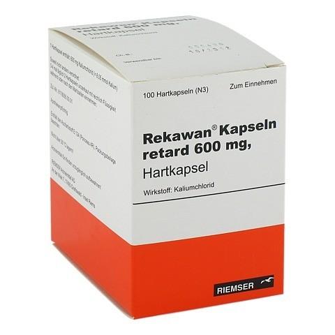 REKAWAN Kapseln retard 600 mg 100 Stück N3