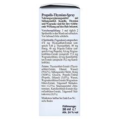 PROPOLIS THYMIAN Spray 30 Milliliter - Rechte Seite