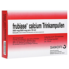 FRUBIASE CALCIUM T Trinkampullen 20 St�ck N1