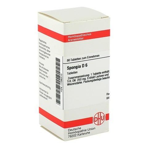 SPONGIA D 6 Tabletten 80 Stück N1