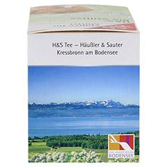 H&S Bio Stilltee Filterbeutel 20 Stück - Rechte Seite