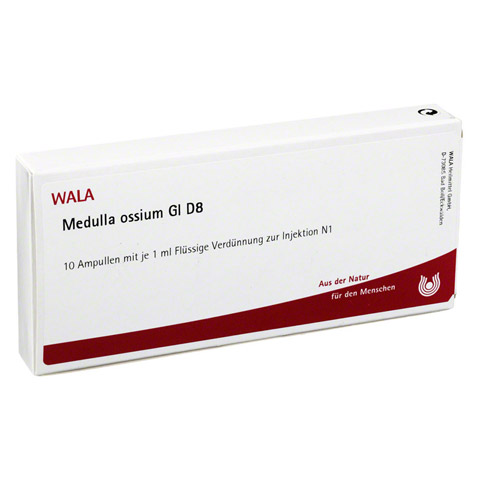 MEDULLA OSSIUM GL D 8 Ampullen 10x1 Milliliter N1