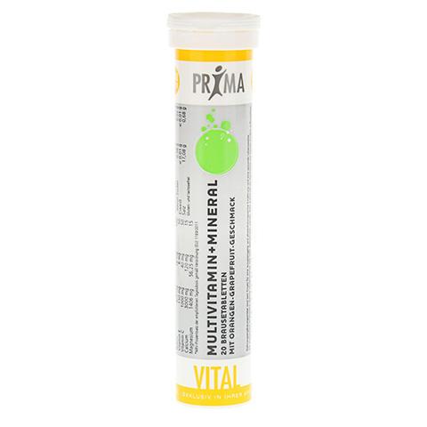PRIMA VITAL Multivitamin+Mineral Brausetabletten 20 Stück