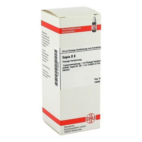 SEPIA D 8 Dilution 50 Milliliter N1
