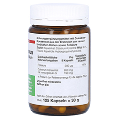 COLOSTRUM Immun Dr.Wolz Kapseln 125 Stück - Rechte Seite
