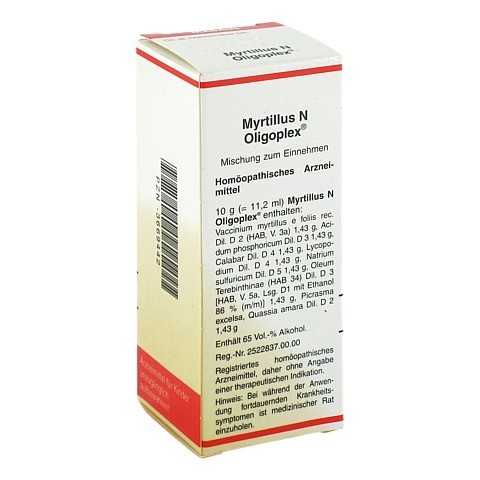 MYRTILLUS N Oligoplex Liquidum 50 Milliliter N1