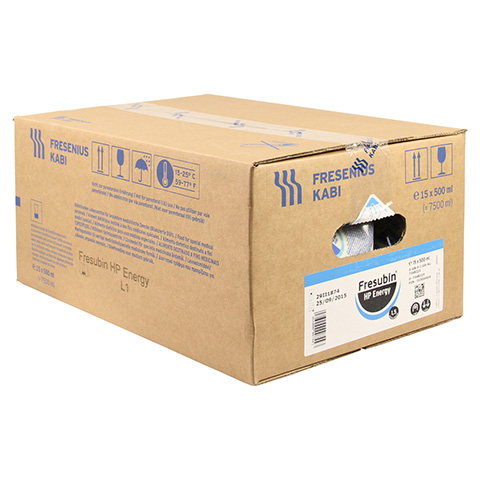 FRESUBIN HP ENERGY Easy Bag 15x500 Milliliter